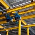 Segurança na operação de talha elétrica