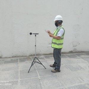 Laudo de ruído ambiental